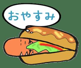 Mr Hot Dog sticker #2133910