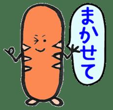 Mr Hot Dog sticker #2133916