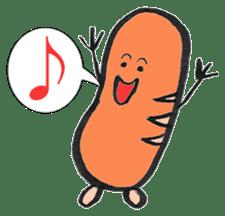 Mr Hot Dog sticker #2133930