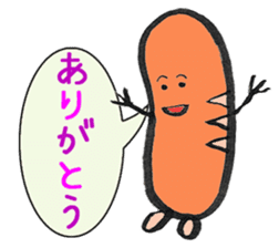 Mr Hot Dog sticker #2133935