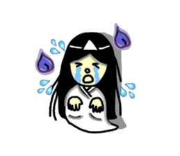 It is the ghost of Yuko, but ... sticker #2134170