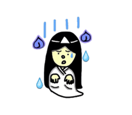 It is the ghost of Yuko, but ... sticker #2134171
