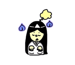 It is the ghost of Yuko, but ... sticker #2134175