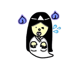 It is the ghost of Yuko, but ... sticker #2134177