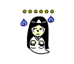 It is the ghost of Yuko, but ... sticker #2134179