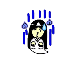 It is the ghost of Yuko, but ... sticker #2134183
