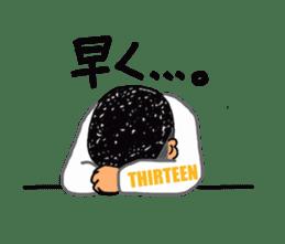 THIRTEEN JAPAN Big brother Sticker sticker #2134323