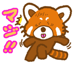 My Red Panda sticker #2134464