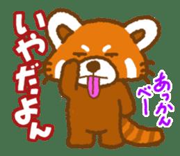 My Red Panda sticker #2134466