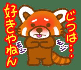 My Red Panda sticker #2134469