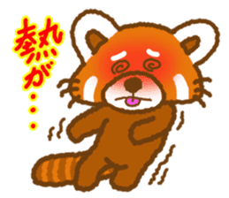 My Red Panda sticker #2134470