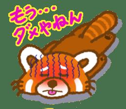My Red Panda sticker #2134471