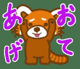 My Red Panda sticker #2134472