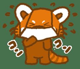 My Red Panda sticker #2134476