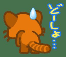 My Red Panda sticker #2134480