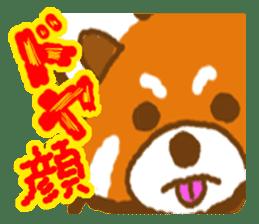 My Red Panda sticker #2134484