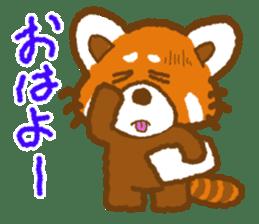 My Red Panda sticker #2134486
