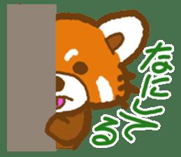 My Red Panda sticker #2134489