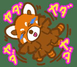 My Red Panda sticker #2134495