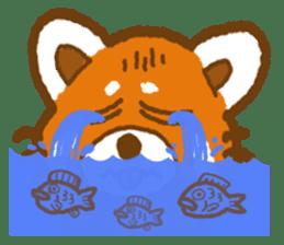 My Red Panda sticker #2134500