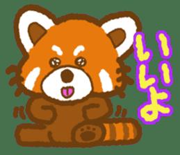 My Red Panda sticker #2134502