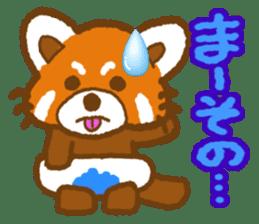 My Red Panda sticker #2134503