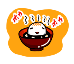 Rice cake sticker sticker #2134816