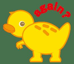 Baby Rex.(English version) sticker #2136464