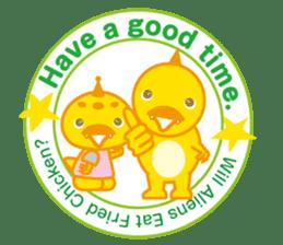 Baby Rex.(English version) sticker #2136470