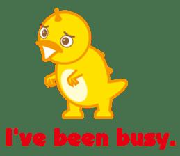 Baby Rex.(English version) sticker #2136476