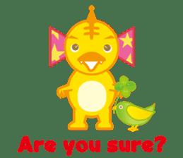 Baby Rex.(English version) sticker #2136481