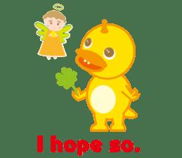 Baby Rex.(English version) sticker #2136485