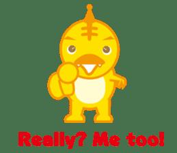Baby Rex.(English version) sticker #2136487