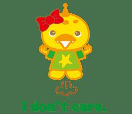 Baby Rex.(English version) sticker #2136492