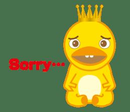 Baby Rex.(English version) sticker #2136496