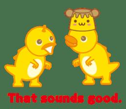 Baby Rex.(English version) sticker #2136498