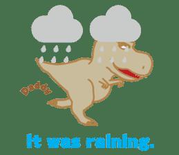 Baby Rex.(English version) sticker #2136500