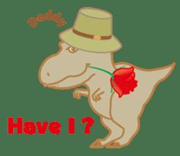 Baby Rex.(English version) sticker #2136502