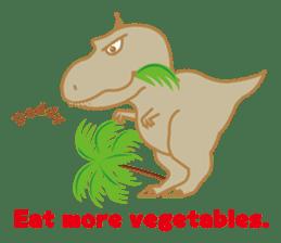 Baby Rex.(English version) sticker #2136503