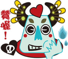 Jiong Jiong Ghost mama sticker #2137636