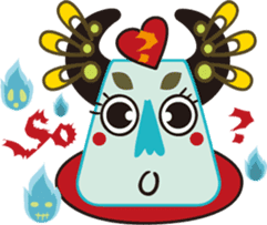 Jiong Jiong Ghost mama sticker #2137637