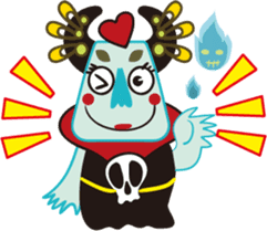 Jiong Jiong Ghost mama sticker #2137654