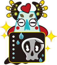 Jiong Jiong Ghost mama sticker #2137657
