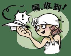 Lovely J girl-(1) sticker #2137678