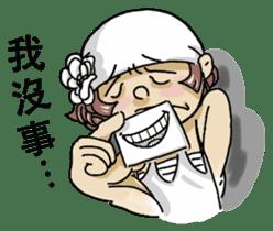 Lovely J girl-(1) sticker #2137683
