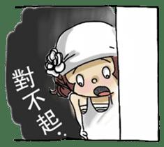 Lovely J girl-(1) sticker #2137684
