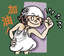 Lovely J girl-(1) sticker #2137687