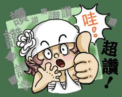 Lovely J girl-(1) sticker #2137694