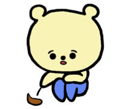 Kuma Goro sticker #2139639