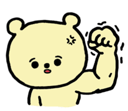 Kuma Goro sticker #2139650